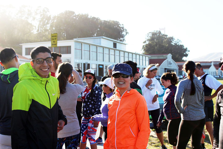 Fun Run Series with Veterans in the Presidio