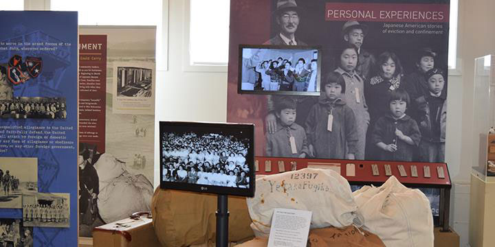 Exhibition at Military Intelligence Service Historic Learning Center