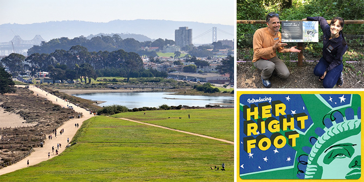 StoryWalk at Crissy Field and Mountain Lake