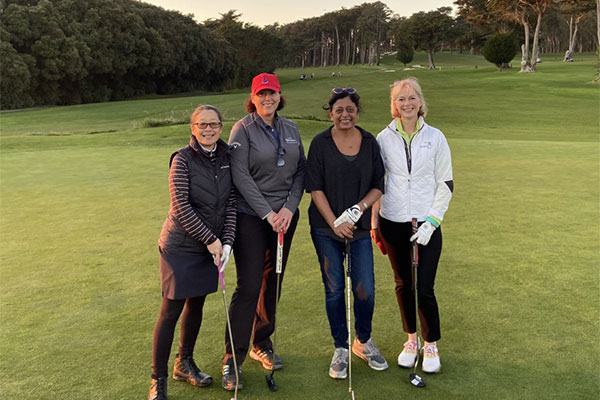 Women's Golf Club members on Presidio Golf Course