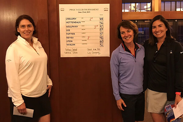 Women's Golf Club members