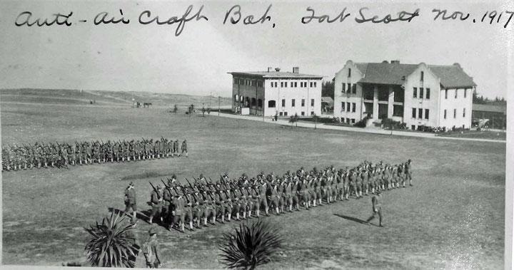 Antiaircraft unit at Fort Winfield Scott