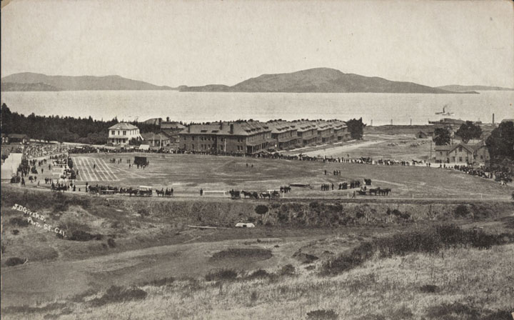 Presidio Theatre site in 1908