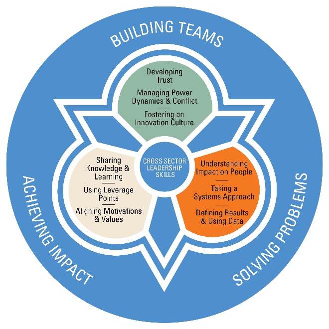 Collaborative Review Teaching ~ A framework for building your cross sector leadership