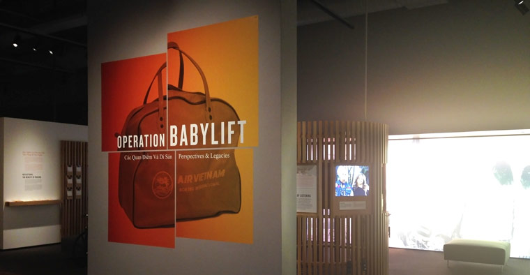 Operation Babylift: Perspectives and Legacies Exhibition Photo