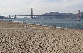 East Beach Presidio San Francisco Ca