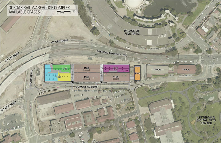 Gorgas Rail Warehouse Complex Available Spaces