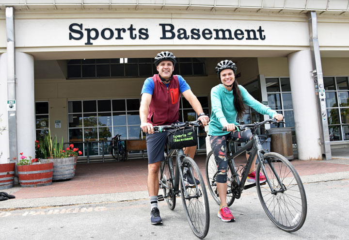 Presidio Sports Basement Bikes