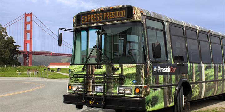 Presidio Shuttle | PresidioGo Free Shuttle Bus Schedules and