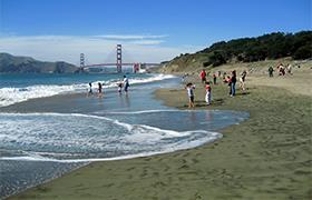 Baker Beach en el Presidio de San Francisco
