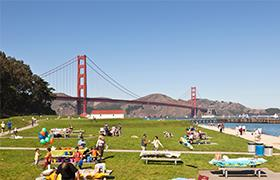 Crissy Field West Bluffs picnic area
