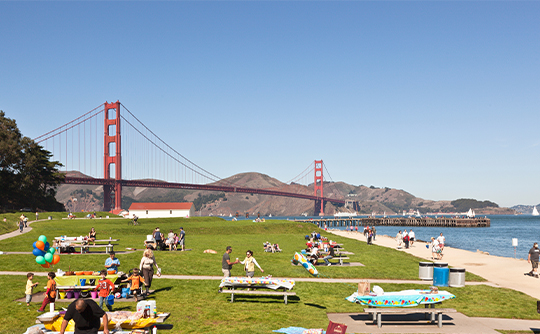 West Bluffs en Crissy Field