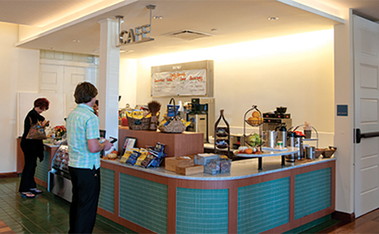 Walt Disney Family Museum cafe